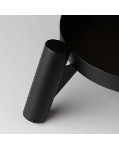 Soporte para patas de madera Negra
